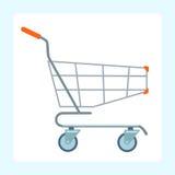 Carro do mantimento nas rodas Imagens de Stock