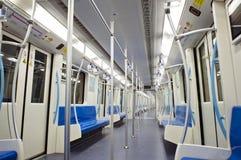 Carro do metro imagem de stock