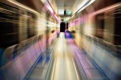 Carro do metro Fotos de Stock Royalty Free