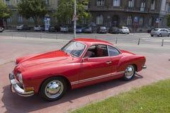 Carro do oldtimer de Karmen Ghia Imagens de Stock
