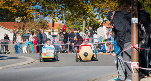 Carro do pedal dos motoristas para uma raça tradicional Imagem de Stock Royalty Free