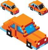 Carro do pixel Fotografia de Stock