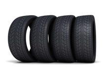 Carro do pneu ilustração do vetor