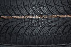 Carro do pneu Imagens de Stock Royalty Free