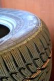 Carro do pneu Fotografia de Stock