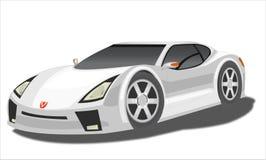 Carro do protótipo ilustração royalty free