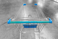 Carro do supermercado Foto de Stock Royalty Free