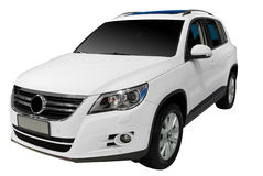 carro do suv 4x4 Foto de Stock