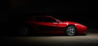 Carro do testarossa de Ferrari 512B Foto de Stock