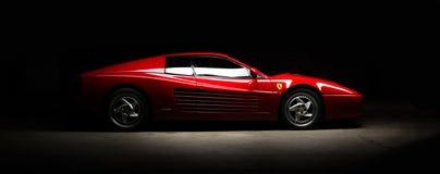 Carro do testarossa de Ferrari 512B Imagens de Stock Royalty Free