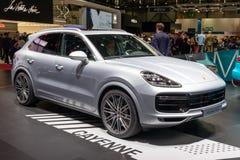 Carro do turbocompressor de Porsche Cayenne imagem de stock royalty free