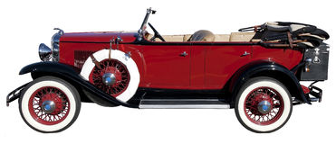 Carro do vintage Imagem de Stock Royalty Free