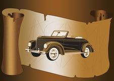 carro do vintage Ilustração Stock