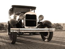Carro do vintage Fotos de Stock Royalty Free