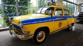 Carro do vintage da milícia Fotografia de Stock Royalty Free