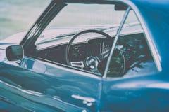 Carro do vintage de New York em Manhattan imagens de stock royalty free