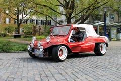 Carro do vintage de VW Buggy em Kettwig, distrito de Essen foto de stock
