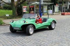 Carro do vintage de VW Buggy em Kettwig, distrito de Essen imagem de stock royalty free