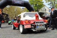 Carro do vintage de VW Buggy em Kettwig, distrito de Essen imagens de stock royalty free