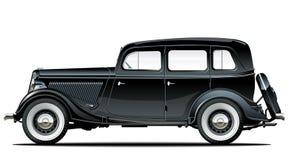 Carro do vintage do vetor Imagens de Stock Royalty Free