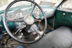 Carro do vintage em Cuba Imagens de Stock Royalty Free