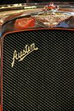 Carro do vintage Emblema de Austin Grade de radiador Imagens de Stock Royalty Free