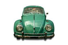 Carro do vintage isolado Imagens de Stock Royalty Free
