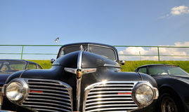 Carro do vintage - luxo de Dodge   Foto de Stock