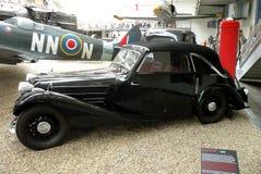Carro do vintage no museu técnico em Praga 10 Fotografia de Stock