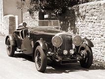 Carro do vintage (parte superior aberta) Foto de Stock Royalty Free