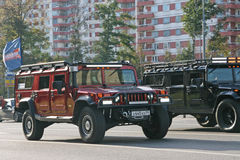 Carro dois Foto de Stock