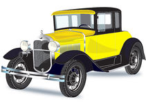 carro dos anos 30 ilustração royalty free