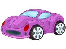 Carro dos desenhos animados Fotos de Stock