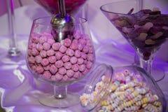 Carro dos doces Imagem de Stock