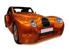 Carro dourado Imagem de Stock Royalty Free