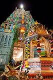 Carro dourado no templo Fotos de Stock Royalty Free
