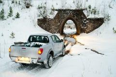 Carro e túnel Foto de Stock