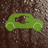 carro Eco-amigável Fotografia de Stock