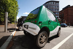 Carro elétrico Imagem de Stock Royalty Free