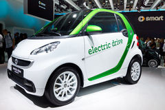 Carro elétrico esperto Imagem de Stock Royalty Free