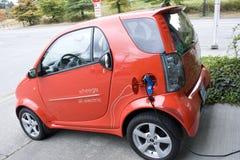 Carro elétrico pequeno imagem de stock royalty free
