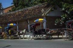Carro en el viaje del norte Asia de Tailandia del lampang Imagenes de archivo