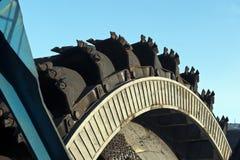 Carro en la mina Imagen de archivo libre de regalías