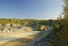 Carro en la mina Imagen de archivo