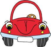 Carro engraçado ilustração stock