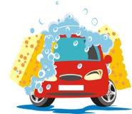 Carro ensaboado Imagem de Stock