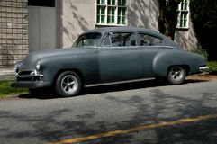 Carro escuro do vintage Foto de Stock Royalty Free