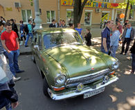 Carro executivo soviético dos anos 60 GAZ 21 Volga Foto de Stock