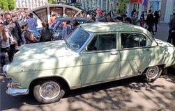 Carro executivo soviético dos anos 60 GAZ-21 Volga Fotos de Stock Royalty Free