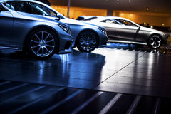Carro extravagante fotos de stock royalty free